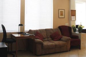 Oak Fence Living Room
